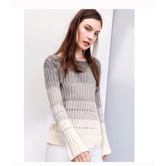 Vince Camuto Sweaters - Vince Camuto Ombré Bell Sleeve Sweater NWT Medium